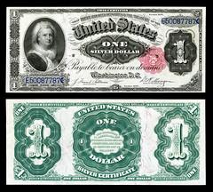 US-$1-SC-1891-Fr.223 (SUGO.SUGO) Tags: victorian gaslight