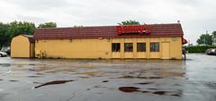 Back of Denny's (Nicholas Eckhart) Tags: america us usa 2016 retail stores fremont ohio oh lk motel restaurant former reuse dennys travelodge