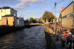 Sullivan's Quay (dorameulman) Tags: cork ireland streetscene streetshot sullivansquay riverlee river nanonaglebridge dorameulman travelphotography outdoor