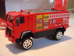 KAIXIN DESERT THUNDER GENERIC 4X4 TRUCK NO6 FIRE DEPT. VEHICLE MATCHBOX COPY 1/64 (ambassador84 OVER 6 MILLION VIEWS. :-)) Tags: kaixin matchbox desertthunderv16 diecast