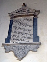 favours he was honoured with - Edenham Lincolnshire (jmc4 - Church Explorer) Tags: edenham church lincolnshire memorial bland