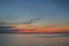 The Sea at Sunset