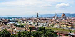 panorama di firence (mind_surfer) Tags: skyline city stadt florenz florence firenze italy italien toskana tuscany toscana sommer summer weitwinkel cityscape wideangle sonnig sunny gebude buildings himmel sky tokinaatxprodx1228