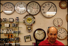 What Time Is It? - Richmond Public Market XT 4034e (Harris Hui (in search of light)) Tags: harrishui fujixt1 digitalmirrorlesscamera fuji fujifilm vancouver richmond bc canada vancouverdslrshooter mirrorless fujixambassador xt1 fujixcamera fujixseries fujix fuji35mmf2 35mm standardlens whattimeisit time timepieces clocks watch clockrepairshop street streetphotography craft shop richmondpublicmarket market negativehighfilmsimulation