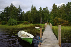 Pier (pentars) Tags: landscape scenery pier lake boat shore wide summer nature pentax k5ii sigma 1020 f35