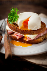 Croque madame, French Toast with Egg (dolphy_tv) Tags: appetizer boiled bread breakfast brunch bruschetta cafe cheese coffee croque croquemadame croquemonsieur crust cuisine cup drink egg food fork france french fried glass grilled ham homemade juice knife lunch meal morning orange parsley plate poached poachedegg restaurant roasted runny rustic sandwich slice snack soft table toast traditional turkey white yolk