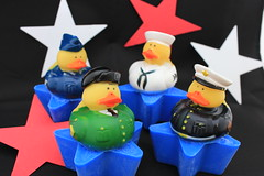 Armed Forces Duck on Soap $4.00 (Clelian Heights) Tags: cleliancenter cleliansoaps soaps decorativesoaps unscented military airforce navy marines army armedforces unitedstates