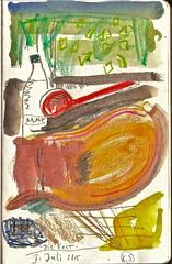 Die Rast (web.werkraum) Tags: ks2015 skizzenbuch karinsakrowski berlinerknstlerin farbzeichnung komposition dierast color colorful collageconcept dasdasein europa germany handzeichnung meinberlineratelierab2008beiflickr nahaufnahme original tagesnotiz unterwegs vertrautheit webwerkraum zeichnung zeichnerin