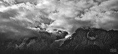 Entre nubes/ In clouds (Jose Antonio. 62) Tags: spain espaa cantabria potes picosdeeuropa clouds nubes mountains montaas beautiful bw blancoynegro blackandwhite