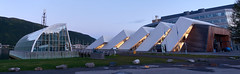 Polaria - Tromso (PacotePacote) Tags: tromso polaria noruega norte norge norway nocturno atardecer arquitectura museo moderna diseo panorama edificio building artic rtico