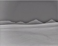 cold morning desert landscape (zbigphotography (1M+ views)) Tags: winter blackandwhite bw cold monochrome night canon sand desert artistic dunes middleeast surreal hills saudi arabia dreamy sanddunes sx50hs rememberthatmomentlevel1 bestevercompetitiongroup bestevergoldenartists