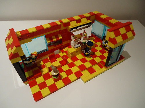 Chicken Burger MOC 18