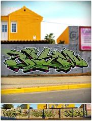 Serial - Cream - Blyw | ABDT - Huelva. 2013 (BLYW de ABDT) Tags: spain huelva cream graffity graff serial mercadona bliw abdt abasedetaker blyw