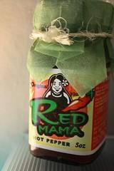 red mama hot pepper sauce (Rakka) Tags: hotsauce thebest soawesome redmama guampackage thankyouchotda packagefromchotda redmamahotsauce hotsaucefromguam guamhotsauce