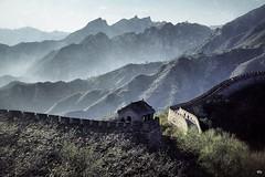 The Great Wall (hapePHOTOGRAPHIX) Tags: nikonf80 hapephotographix china badaling granmuralla grosemauer greatwall snapseed 萬里長城 万里长城 fav10 fav20 156chi dsplyys