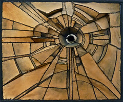 Lee Bontecou : Untitled 1960 (Akbar Sim) Tags: holland art netherlands steel kunst nederland denhaag canvas gemeentemuseum thehague copperwire staal koperdraad leebontecou akbarsimonse akbarsim