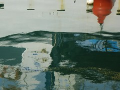 barca a motore (enza bianchimani) Tags: barca ship riflessi livorno