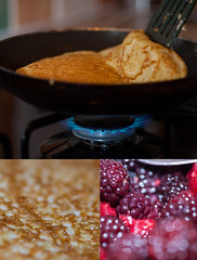 [06/52]Something Sweet (Rich Jankowski) Tags: texture cooking canon eos triptych sweet unitedkingdom mosaic gas sugar flame montage heat gb pan pancake ff fryingpan 52 pancakeday shrovetuesday pictureaweek project52 ef100mmmacrof28 canon5dmkii 5d2 52weeksofphotography