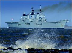 HMS Illustrious 14th February 2013 (Cassini2008) Tags: illustrious newbrighton hms rivermersey