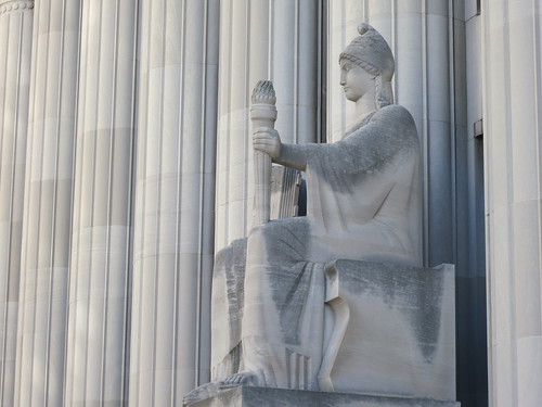 Courthouse Sculpture