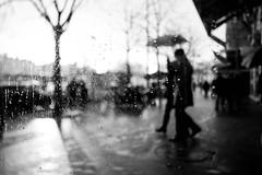 Rainy day (PhotobyVro) Tags: street winter bw paris france rain europe day pluie drop nb rainy rue goutte