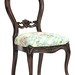 111. Carved Victorian Parlor Chair