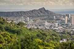 Honolulu (Christy Hibsch ( Christy's Creations on Facebook )) Tags: hawaii day cloudy oahu honolulu diamondheadcrater