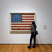 Jasper Johns, Flag with Viewer