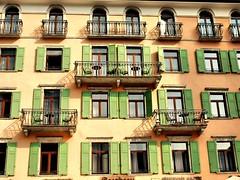 Riva (saxonfenken) Tags: riva lakegarda italy wimdowspastel balconies green herowinner gamewinner favecontestwinner challengewinner friendlychallenges thumbsup 2italy 2