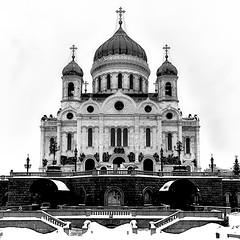 Cathedral of Christ the Saviour (Gena Golovskoy) Tags: christ cathedral russia moscow gena saviour golovskoy