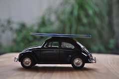 52-365 Black Punch Buggy... No Punch backs! (wrightx44) Tags: black volkswagen toy bokeh beetle round surfboard beetlejuice buggy punchbuggy day52 lowangle volkswagenbeetle week8 2013 movietitle day52365 3652013 2013inphotos 52weeksthe2013edition 522013 2013365 21feb13 113inpics