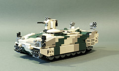 CV-100 Spadroon APC (Aleksander Stein) Tags: lego military wheels modular vehicle medium nordic fighting apc tracked 8x8 ndc hagglunds cv100 spadroon