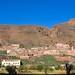 Road around Azagharnirs, Anti-Atlas, Morocco