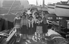[Children on dock]