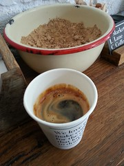 Long black coffee AUD3.50 - Market Lane Coffee QVM - SGS3 (avlxyz) Tags: coffee drink sugar caffe rawsugar blackcoffee panella villaroel musasa bolinda cafesugar caffelungo longblackcoffee marketlanecoffee bolindabolivia villaroelbolivia musasarwanda