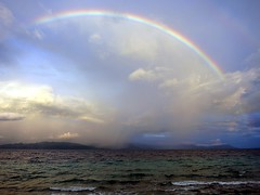 somewhere over the rainbow (dive-angel (Karin)) Tags: rainbow regenbogen southernleyte sogodbay
