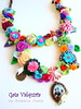 Cor de Amizade (Gata Valquíria) Tags: flores cat cores necklace crochet felt corações feltro collar colar fios contas colares necklaces santoantónio feltros fuxicos abóbrinhas gatavalquíria