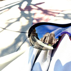 Texas State Capitol: Reflection in a Glass Eye