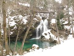 Vintgar gorge (duncan) Tags: winter lovely1 slovenia bled gorge vintgargorge vintgar 2013 triglavski