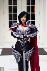 Nightraven Fiora | League of Legends (M-Squared Photography) Tags: cosplay lol convention legends yaya han league katsucon fiora nightraven
