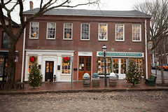 Nantucket Holiday Stroll, Nantucket (Massachusetts Office of Travel & Tourism) Tags: christmas holiday shopping massachusetts decoration nantucket