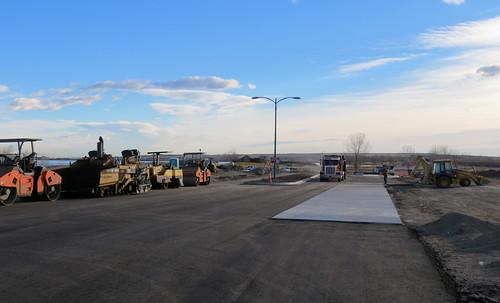 Photo - Reservoir gate entry project - Roadway construction