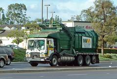 Waste Management Truck (Photo Nut 2011) Tags: california trash truck garbage junk sandiego wm waste refuse mack sanitation garbagetruck wastemanagement trashtruck wastedisposal carmelmountain golfgalaxy 206722