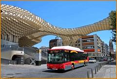 metrosol parasol, Seville (that Geoff...) Tags: bus public architecture canon sevilla spain transport seville andalucia architect parasol mayer jurgen espania 500d metrosol blinkagain
