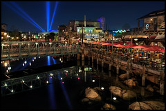 Fisherman's Wharf, Disney California Adventure Park (Gregg L Cooper) Tags: california park night eos disney adventure wharf fishermans 5d hdr mkiii caonon