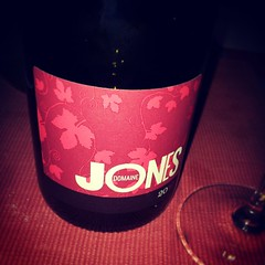 Domaine Jones Rouge - today's lunchtime tipple...
