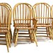 33. Set of 10 Contemporary Windsor Dining Chairs