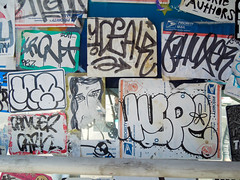 (gordon gekkoh) Tags: sanfrancisco graffiti sticker iron mq hype ideal vf kcm dck dms bkf btm shux lolc cancercarl idealr
