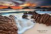 Little Beach Port Stephens NSW Australia (Kiall Frost) Tags: beach water sand nikon rocks surf australia nsw portstephens headland shoalbay littlebeach tomaree leefilters 1635mmf4 kiallfrost d800e luminocitymasks
