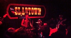 The Need @ Slabtown (Dead  Air) Tags: cameraphone metal phonecam portland drums punk experimental pop drummer droid slabtown stagelights theneed flickrandroidapp:filter=sydney
